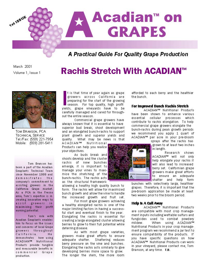 Rachis Stretch with ACADIAN™